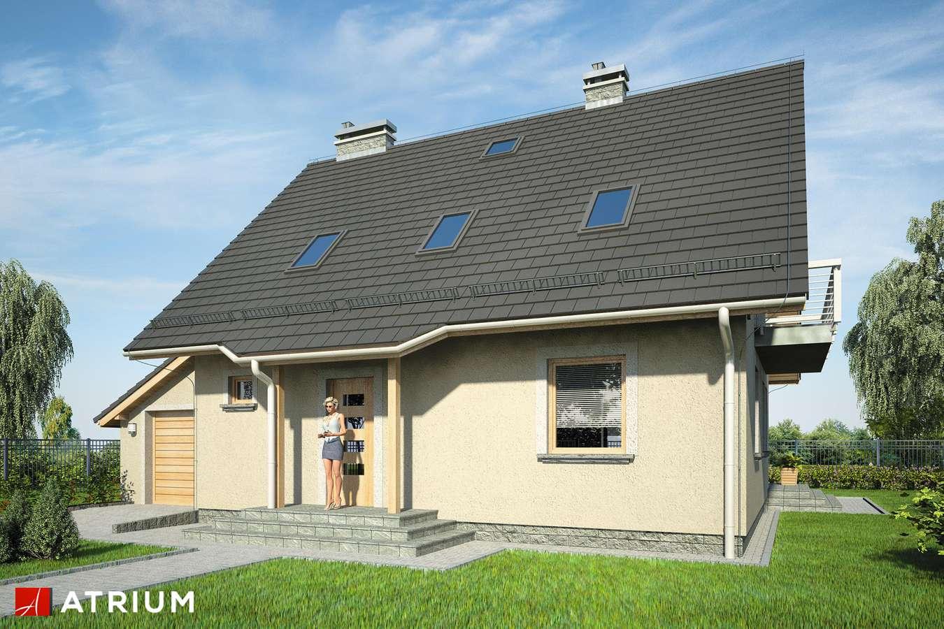 Projekty domów - Projekt domu z poddaszem ULA BIS - wizualizacja 1