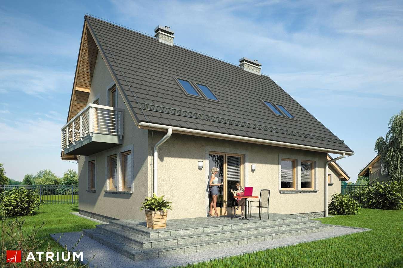 Projekty domów - Projekt domu z poddaszem ULA BIS - wizualizacja 2