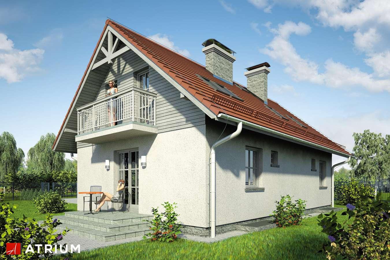 Projekty domów - Projekt domu z poddaszem JUTRZENKA II - wizualizacja 2