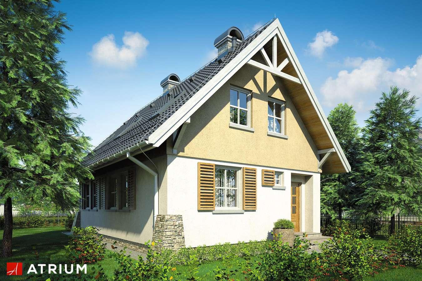Projekt domu z poddaszem MAJA II - wizualizacja 2