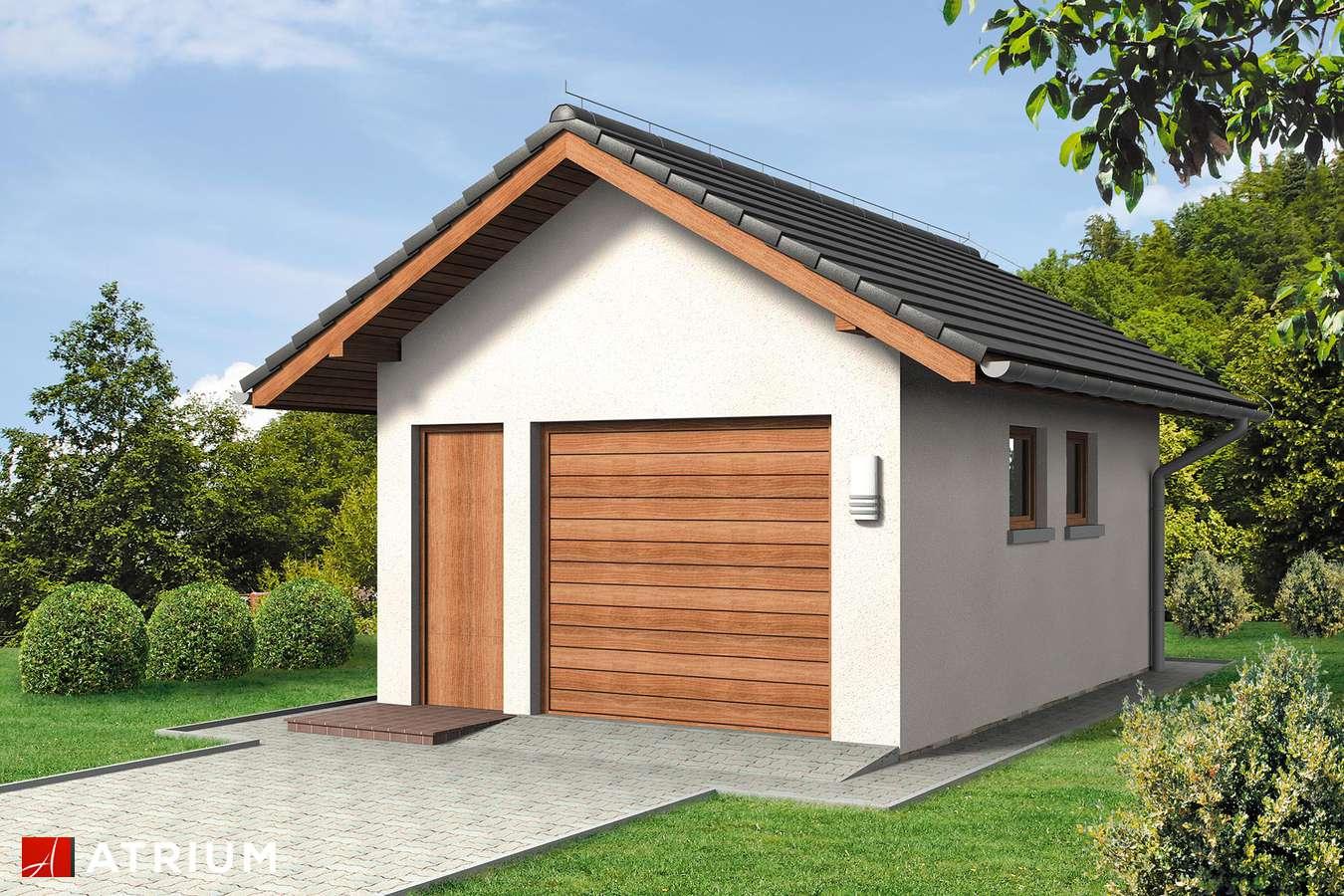 Garaż Z 32 - wizualizacja 1