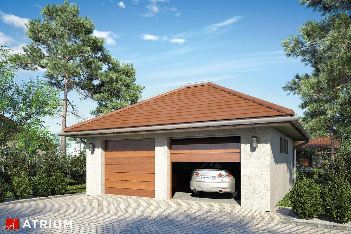 Garaż Z 35 - wizualizacja 1
