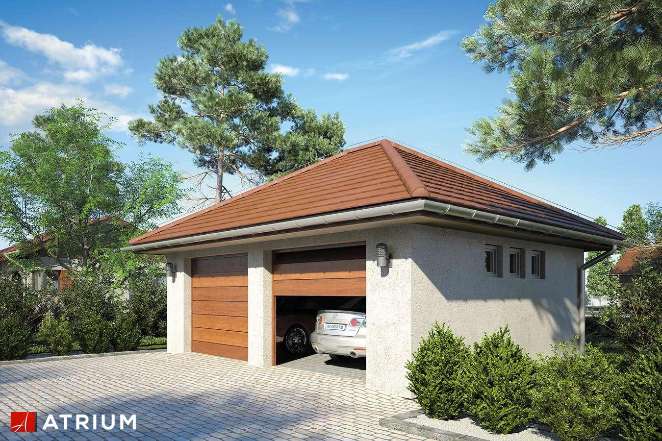 Garaż Z 35 - wizualizacja 2