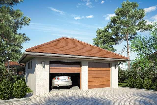 Projekt garażu Z 35