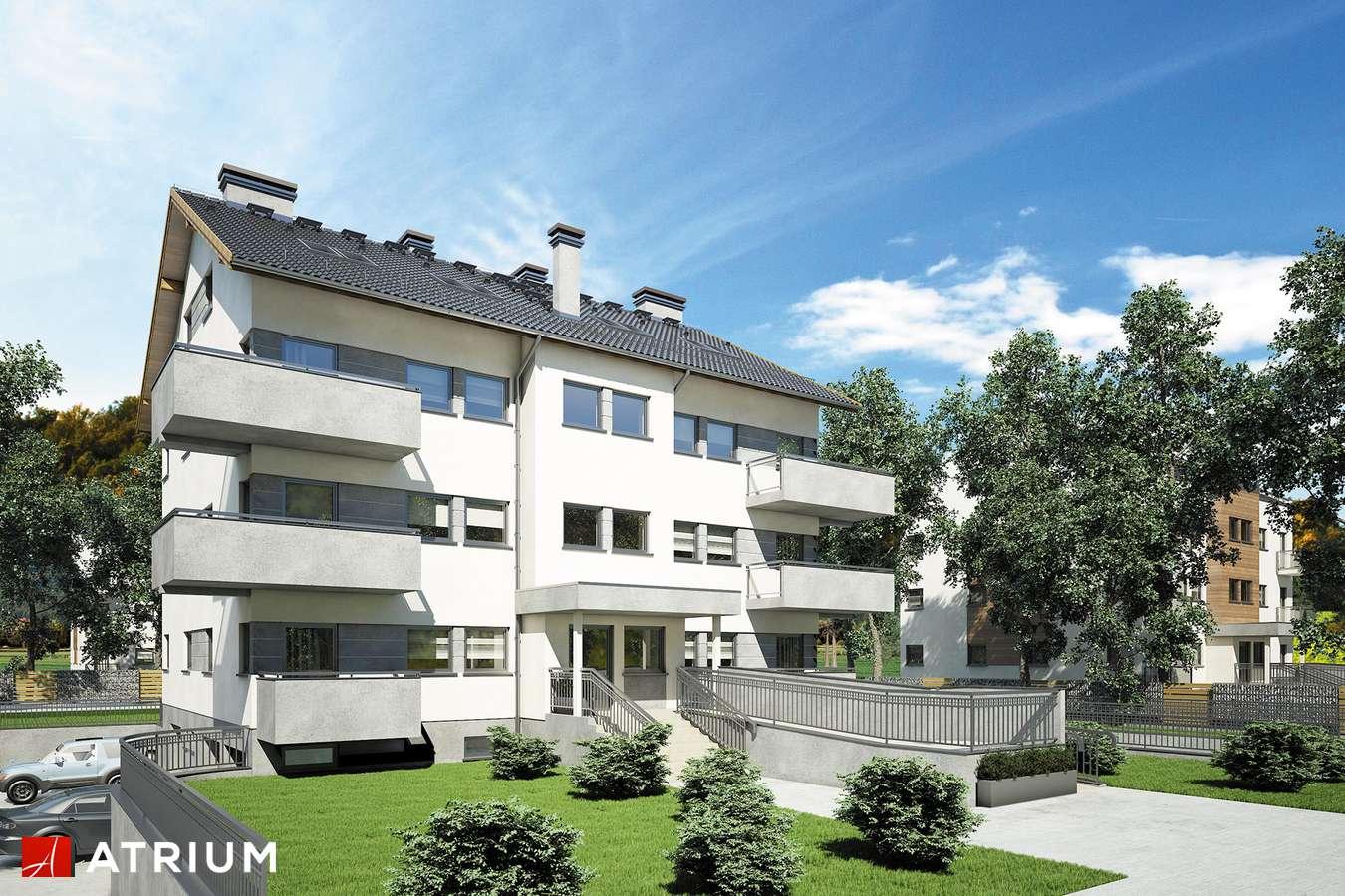 Projekty domów - Projekt domu z poddaszem TOP DOM - wizualizacja 1