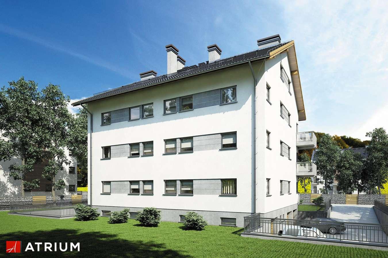 Projekty domów - Projekt domu z poddaszem TOP DOM - wizualizacja 2