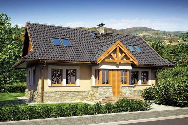 Projekt domu Magura