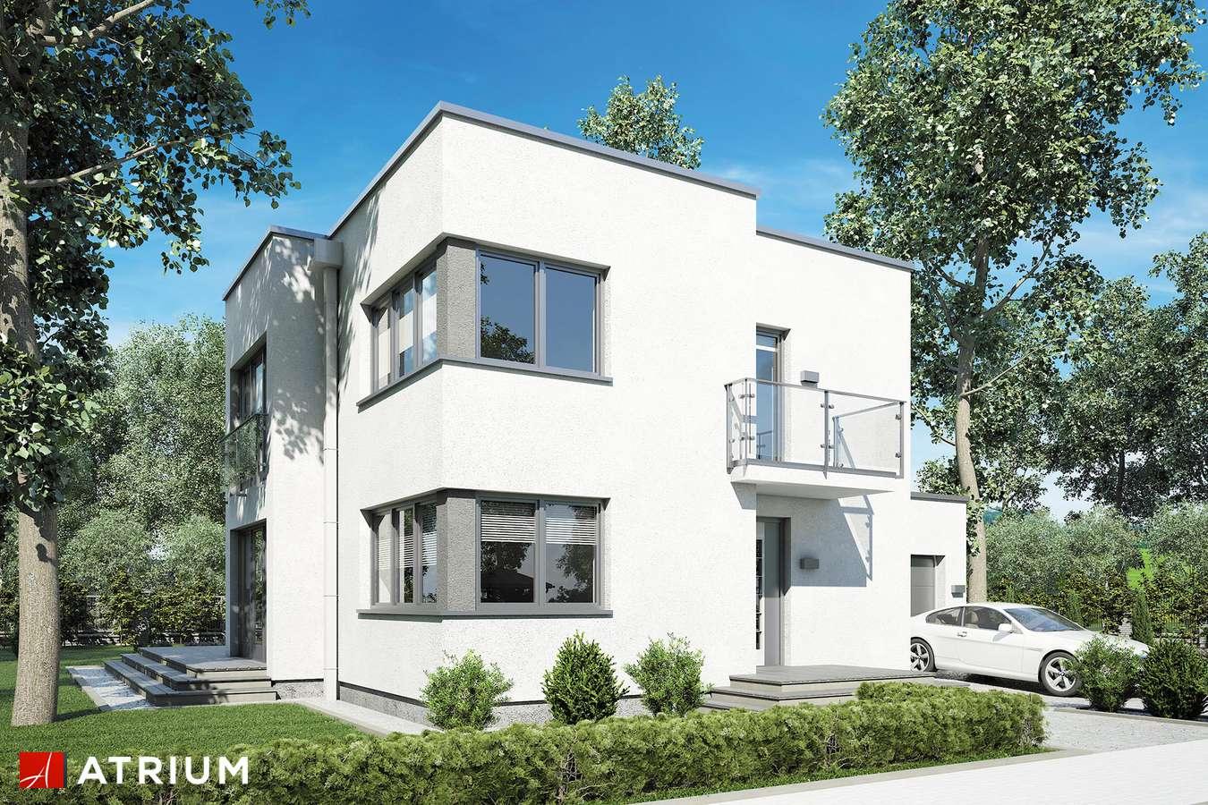 Projekty domów - Projekt domu piętrowego ALFA - wizualizacja 1