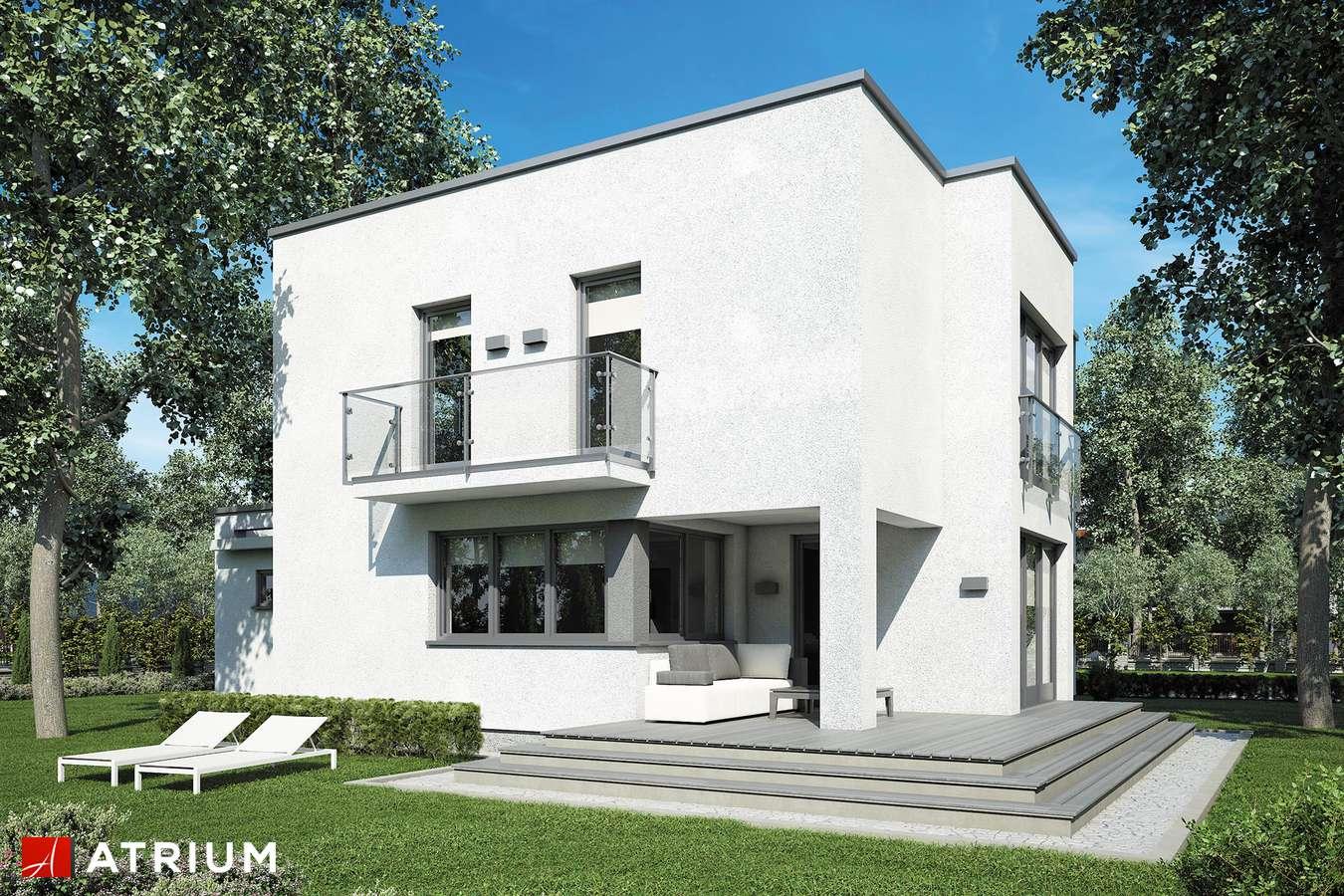 Projekty domów - Projekt domu piętrowego ALFA - wizualizacja 2