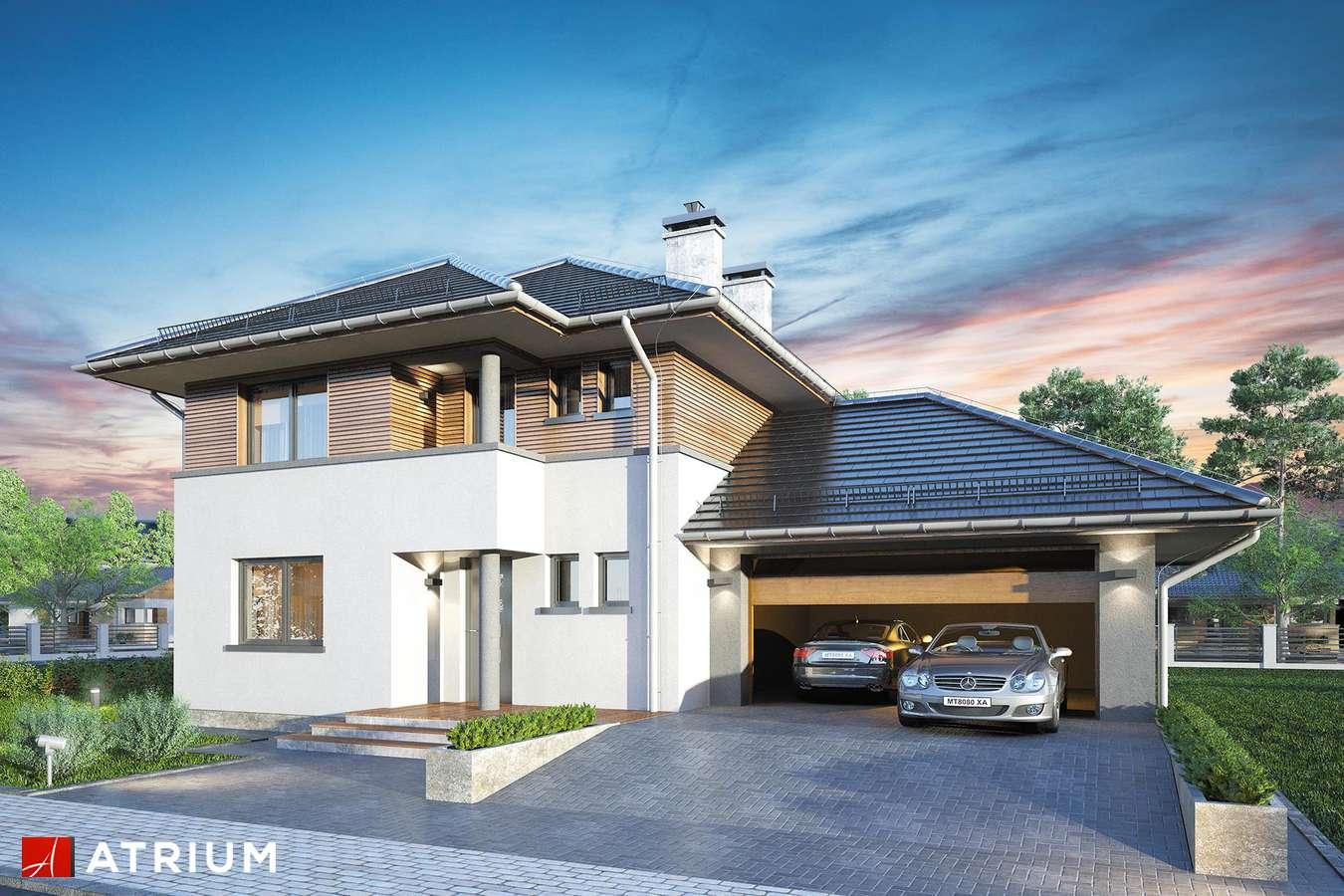 Projekty domów - Projekt domu piętrowego FIGARO - wizualizacja 1