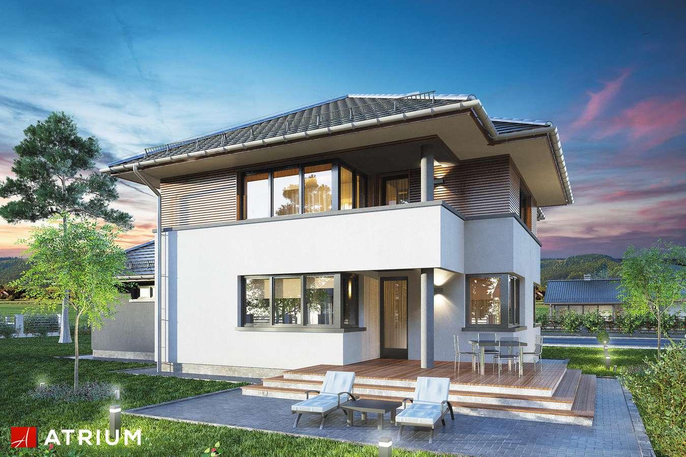Projekty domów - Projekt domu piętrowego FIGARO - wizualizacja 2