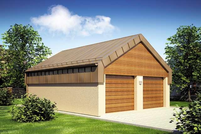 Projekt garażu Z 36