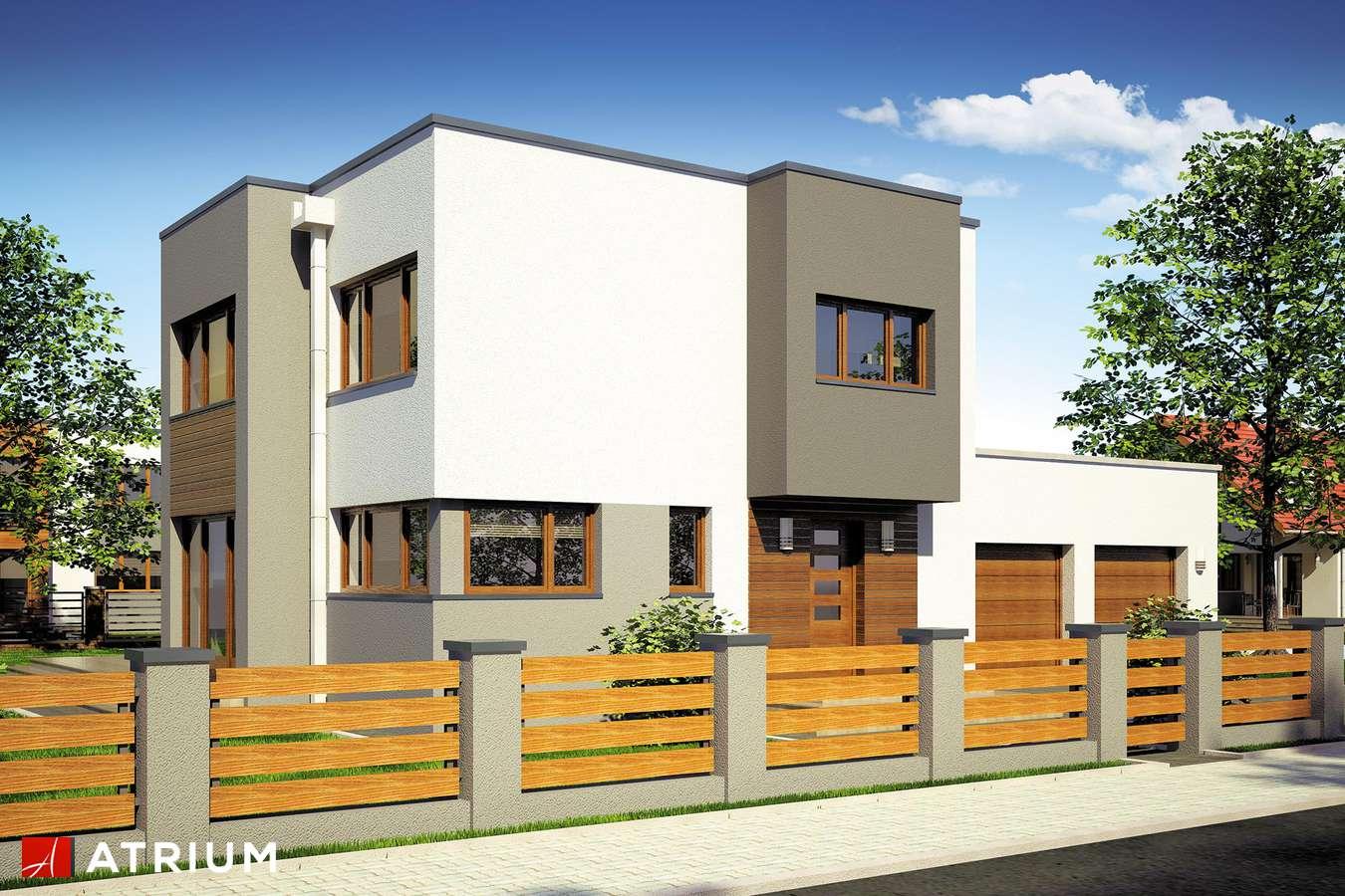Projekty domów - Projekt domu piętrowego BETA - wizualizacja 1