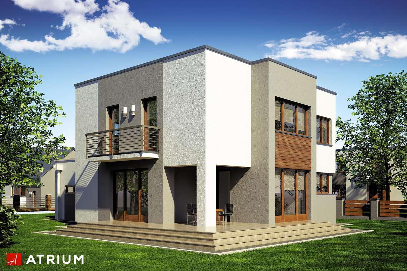 Projekty domów - Projekt domu piętrowego BETA - wizualizacja 2
