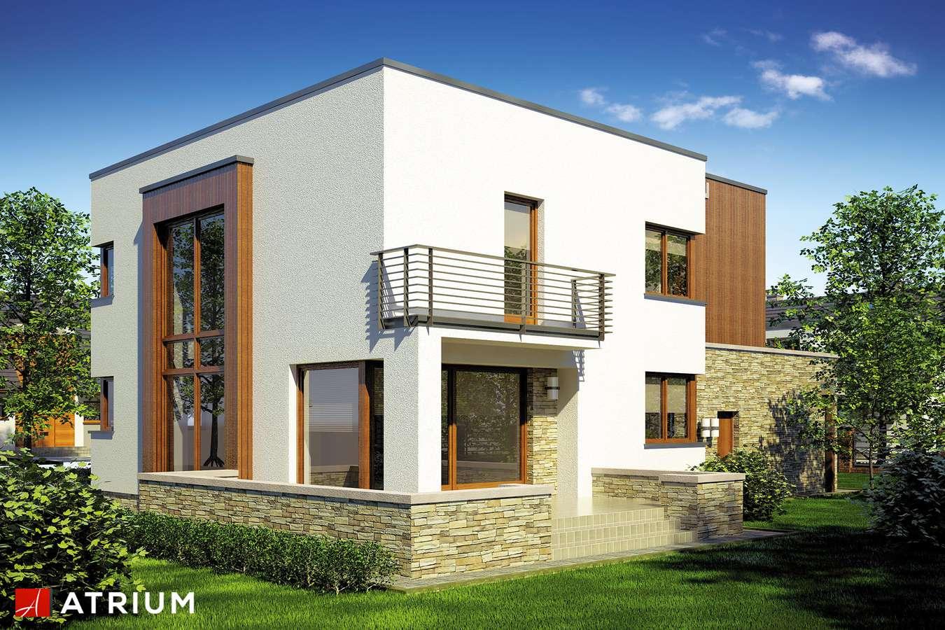 Projekty domów - Projekt domu piętrowego CYNAMON - wizualizacja 2