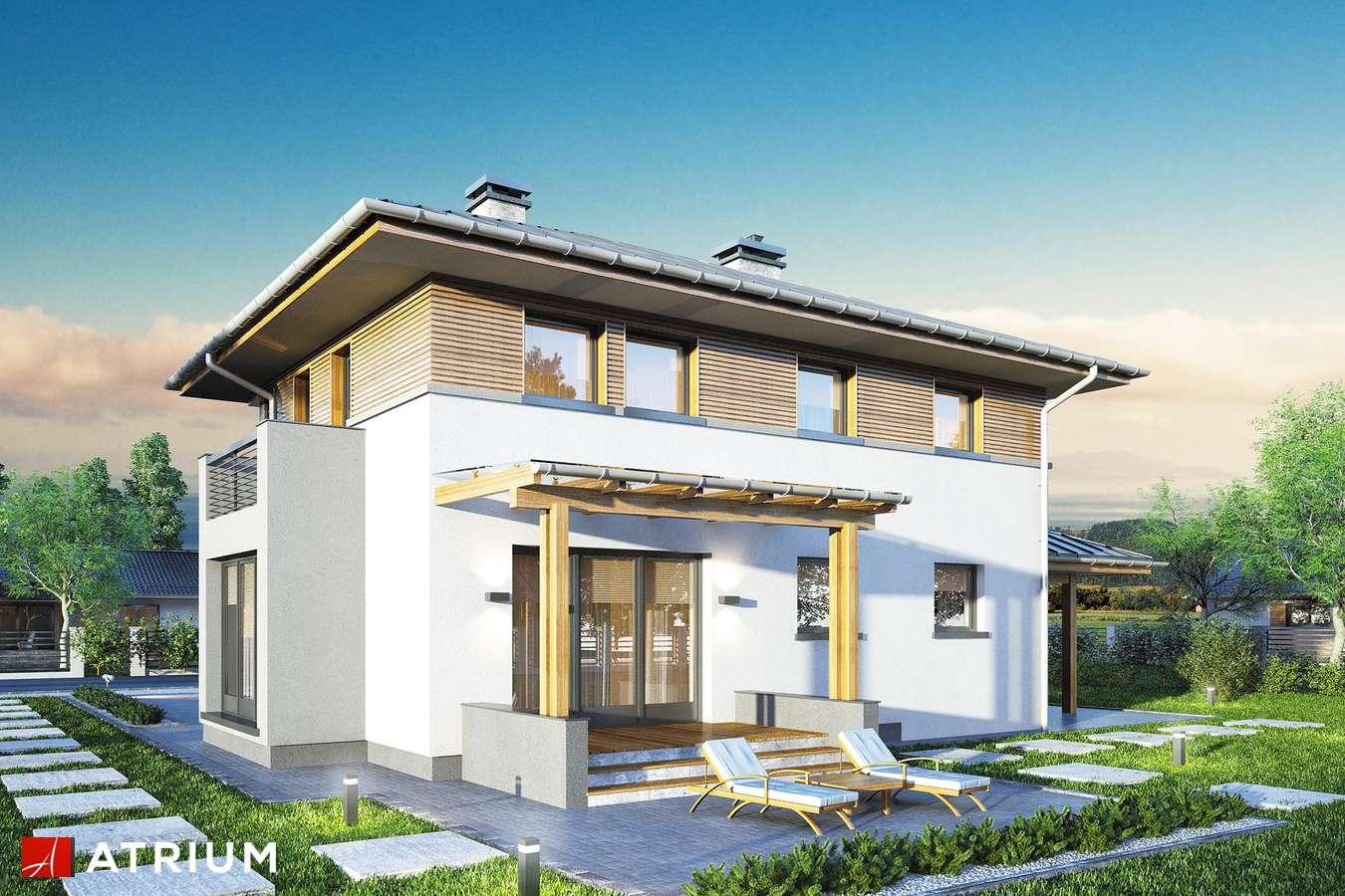 Projekty domów - Projekt domu piętrowego SIENA II - wizualizacja 1