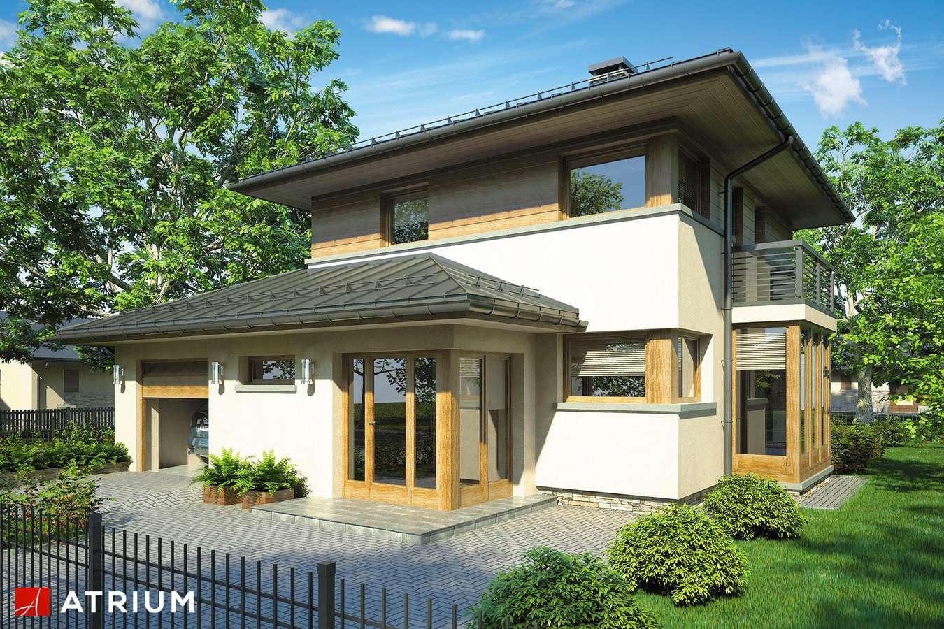 Projekty domów - Projekt domu piętrowego SIENA - wizualizacja 1