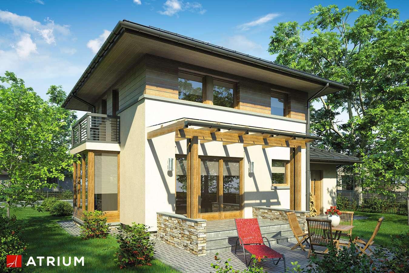 Projekty domów - Projekt domu piętrowego SIENA - wizualizacja 2