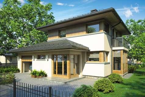 Projekt domu Siena