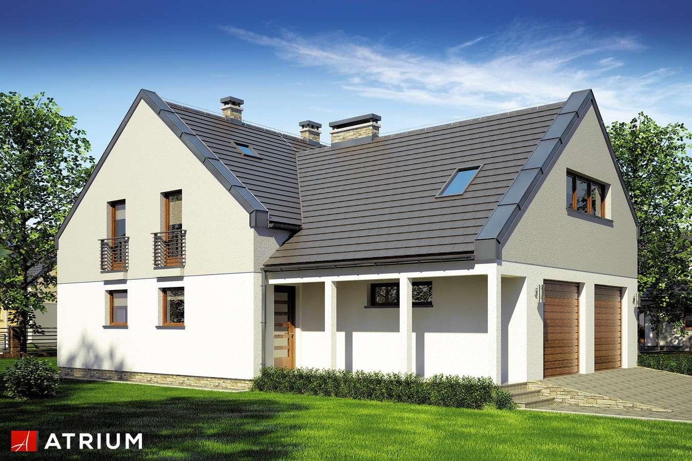 Projekty domów - Projekt domu z poddaszem STELLA II - wizualizacja 1