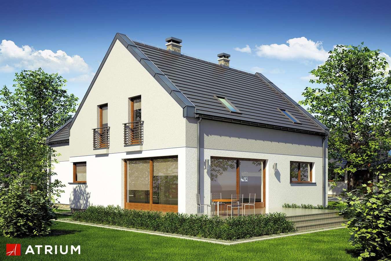 Projekty domów - Projekt domu z poddaszem STELLA II - wizualizacja 2
