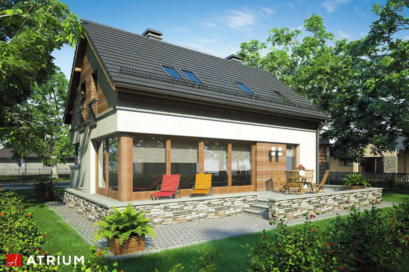 Projekt domu z poddaszem SAMBA - wizualizacja 2