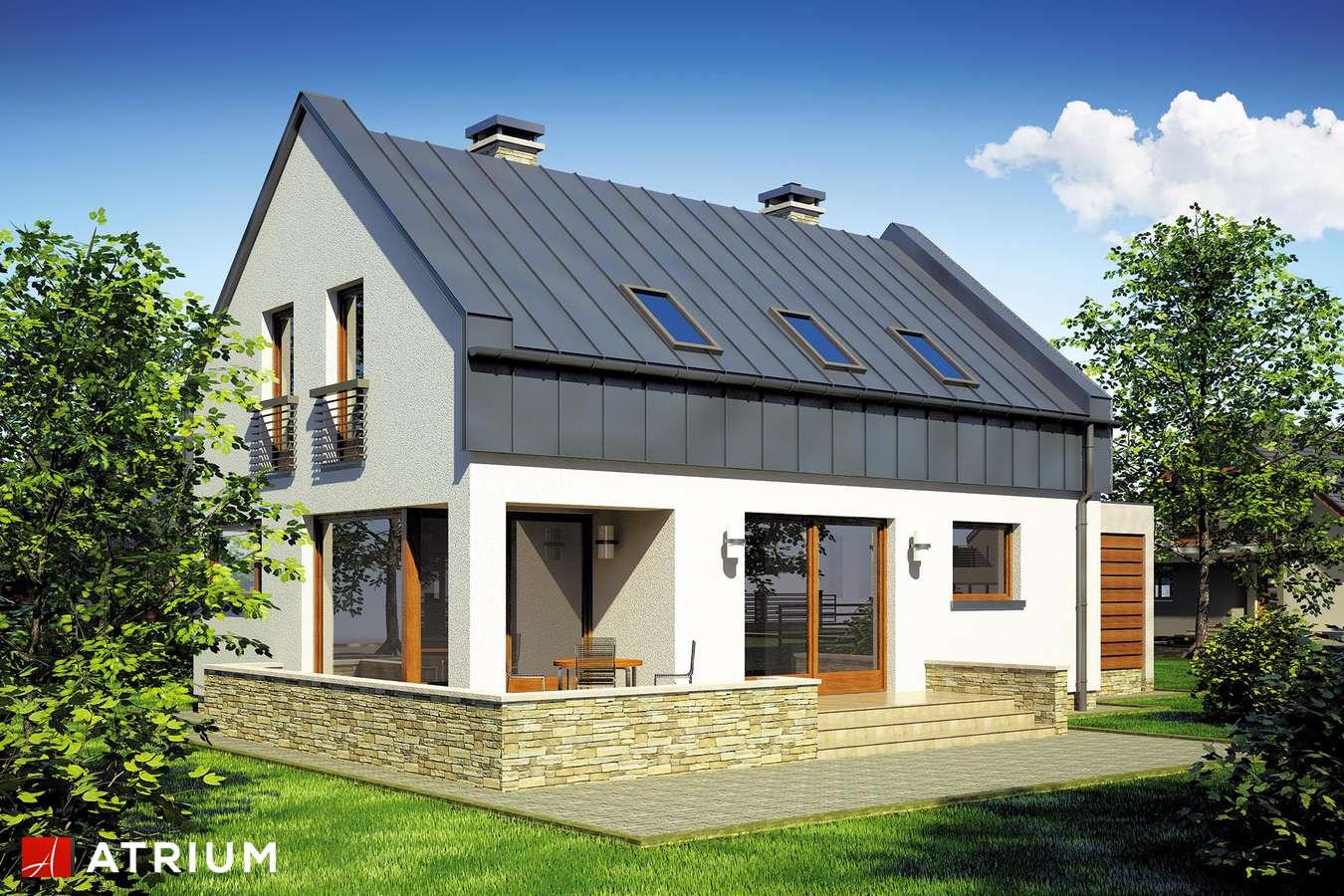 Projekt domu z poddaszem RUMBA - wizualizacja 2