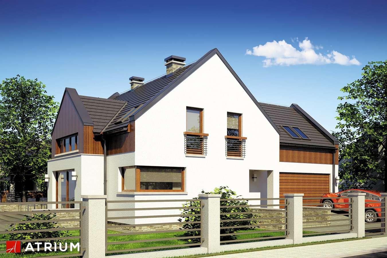 Projekty domów - Projekt domu z poddaszem SWING - wizualizacja 1