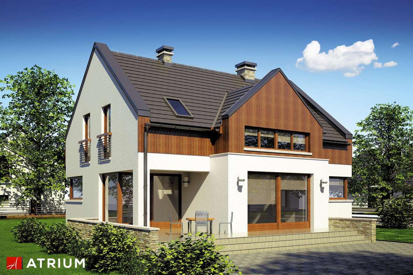 Projekty domów - Projekt domu z poddaszem SWING - wizualizacja 2