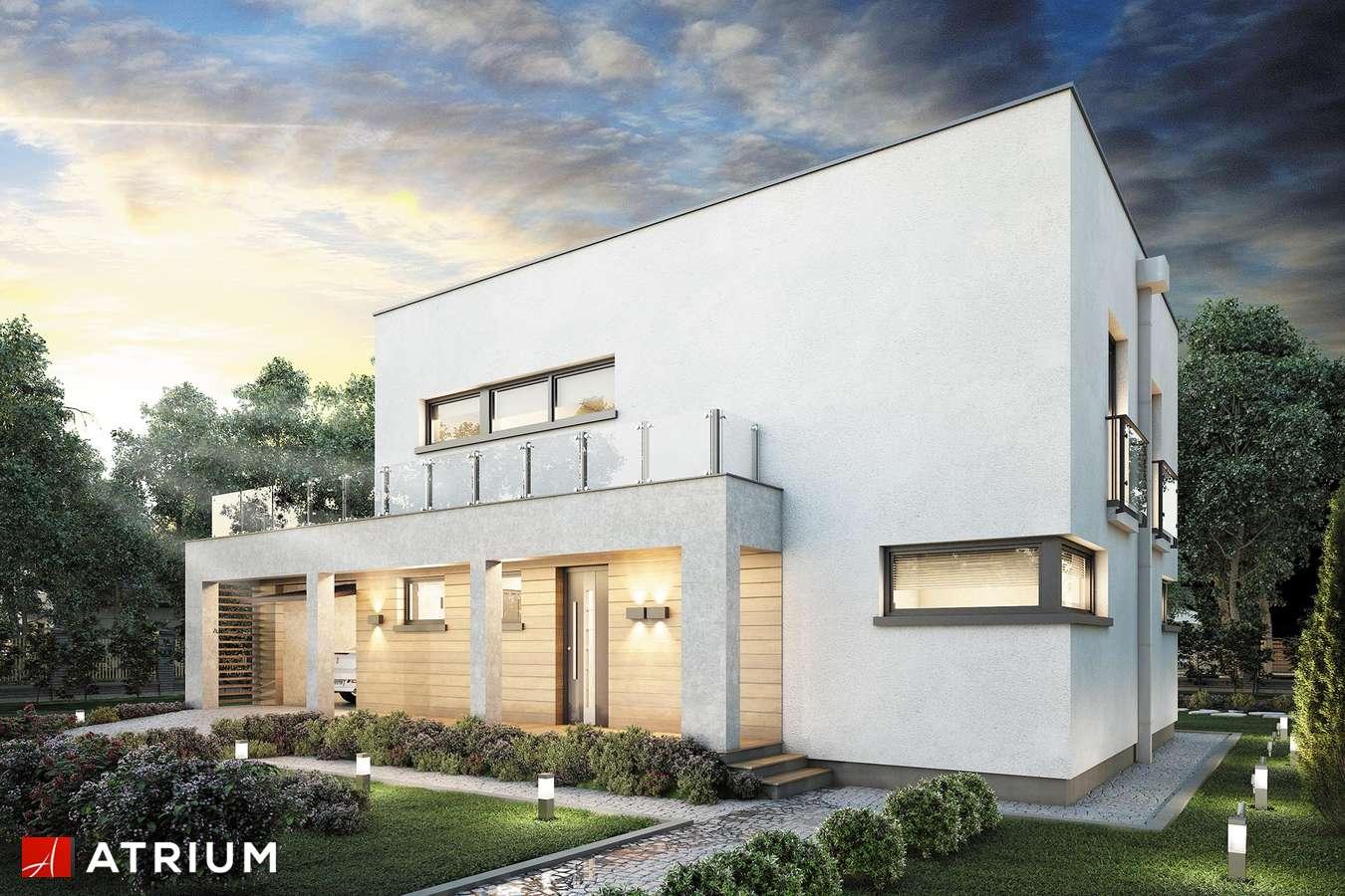 Projekty domów - Projekt domu piętrowego QUBUS II - wizualizacja 1