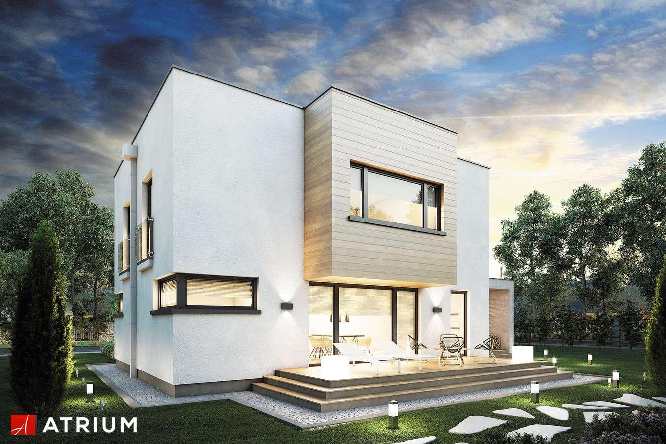 Projekty domów - Projekt domu piętrowego QUBUS II - wizualizacja 2