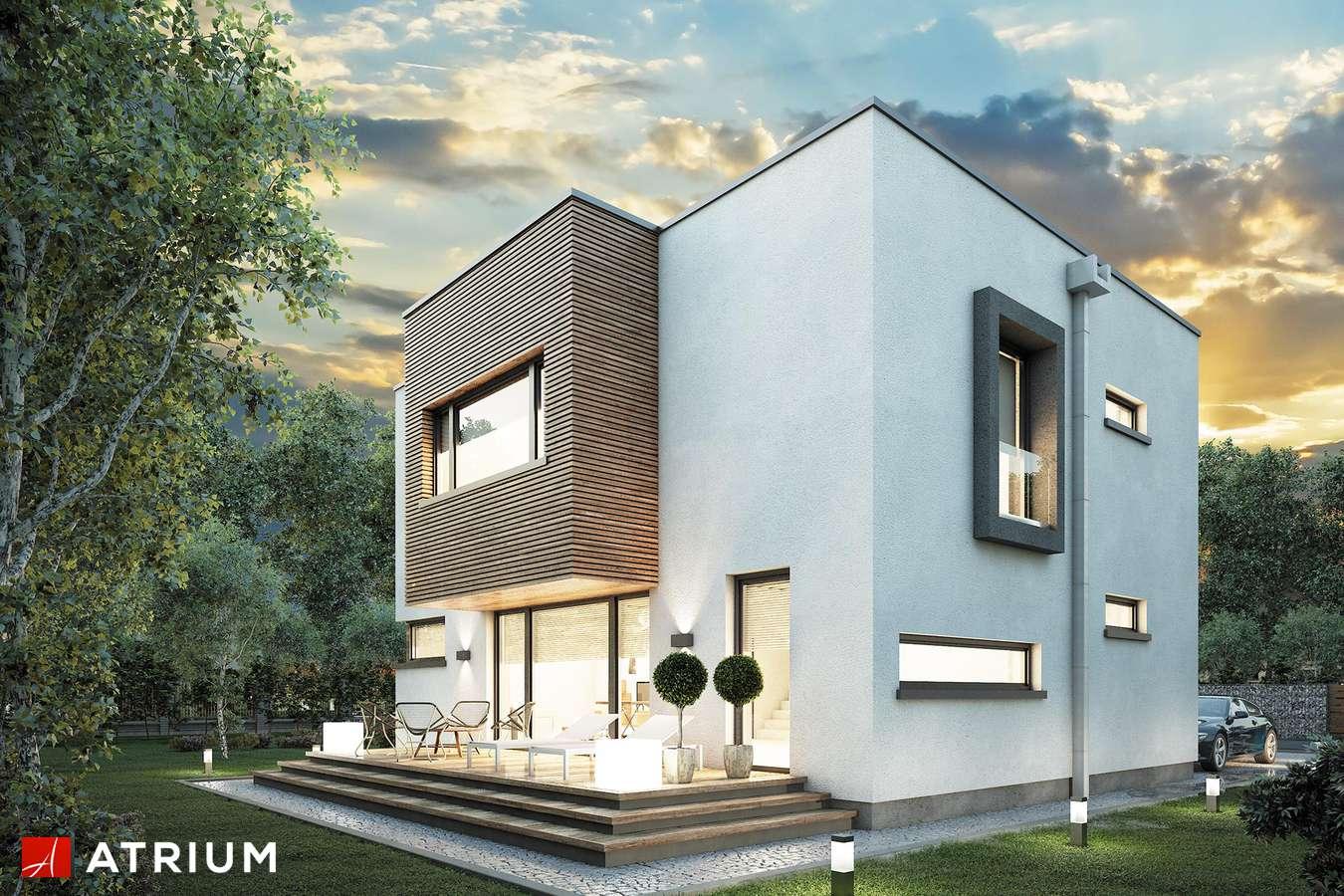 Projekty domów - Projekt domu piętrowego QUBUS - wizualizacja 2