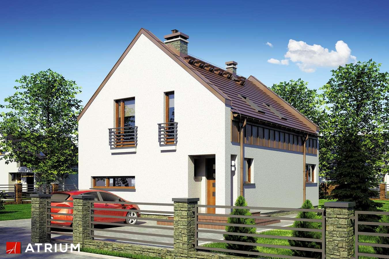 Projekty domów - Projekt domu z poddaszem WENA - wizualizacja 2