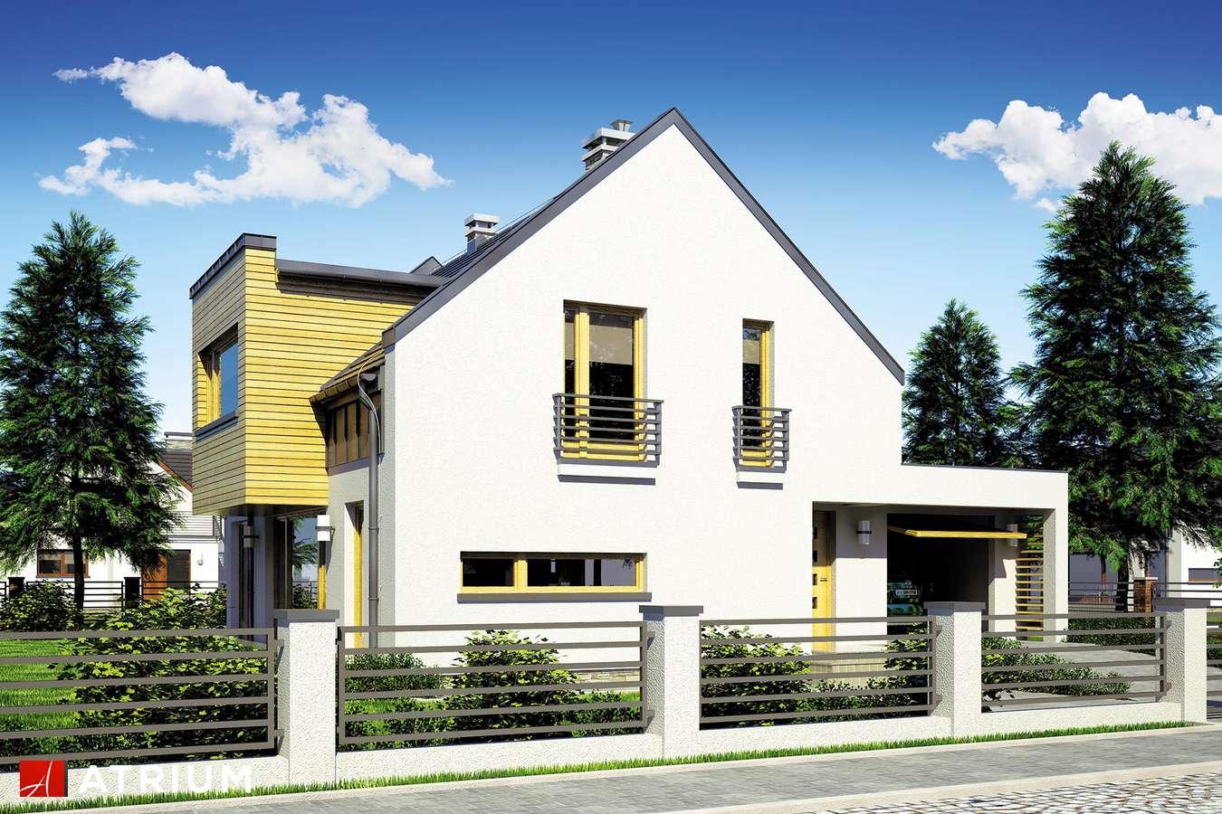 Projekty domów - Projekt domu z poddaszem WENA II - wizualizacja 1