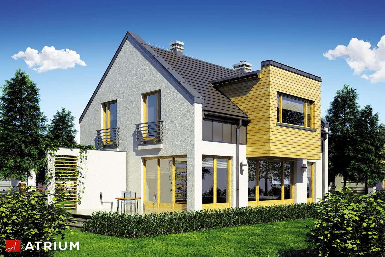 Projekty domów - Projekt domu z poddaszem WENA II - wizualizacja 2