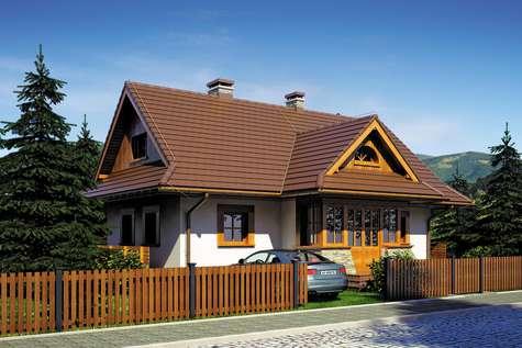 Projekt domu Kaskada
