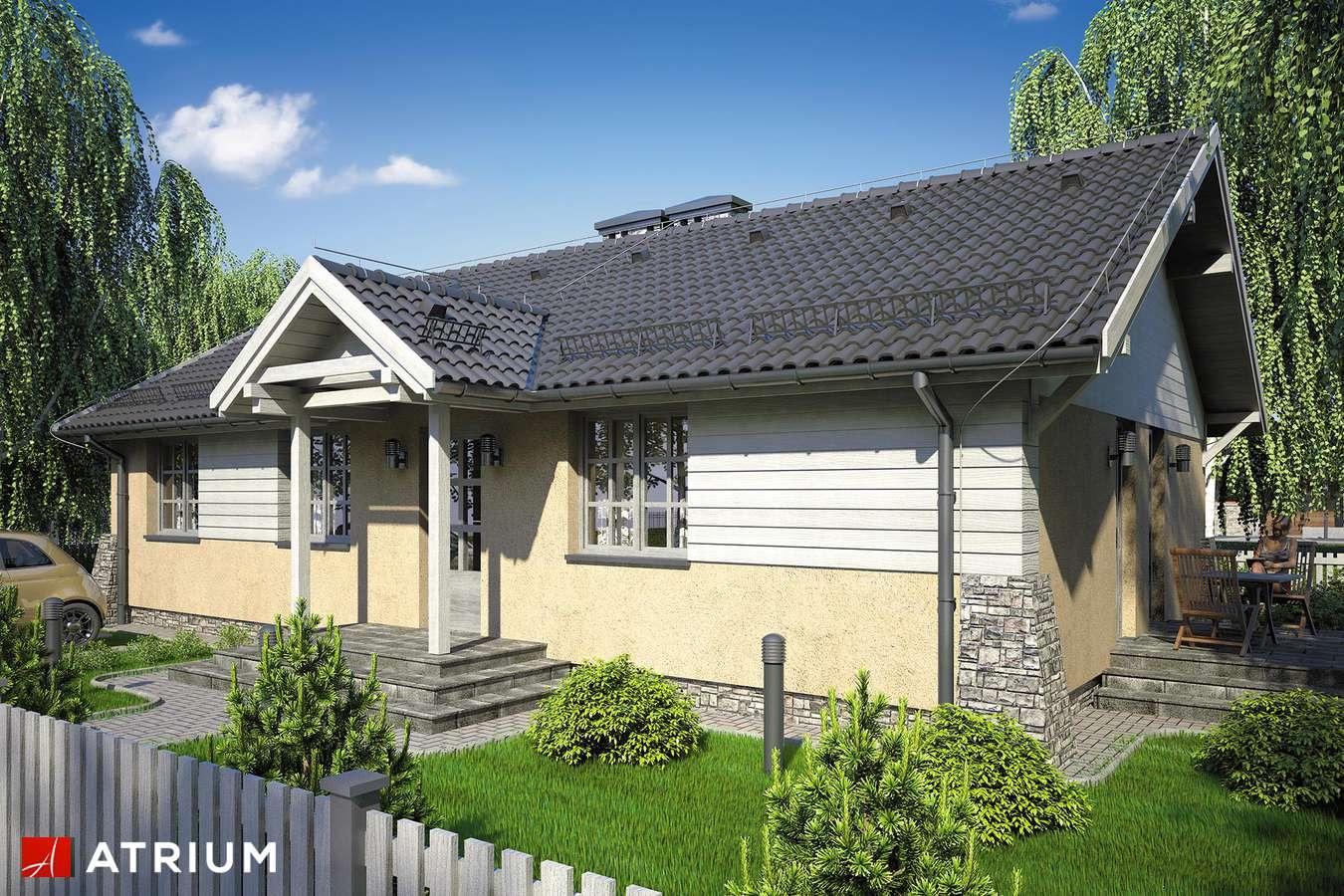 Projekty domów - Projekt domu parterowego ŚWIT - wizualizacja 1