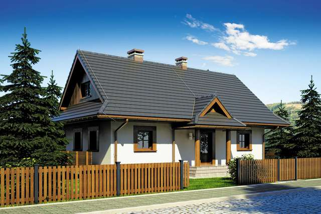 Projekt domu Kaskada II