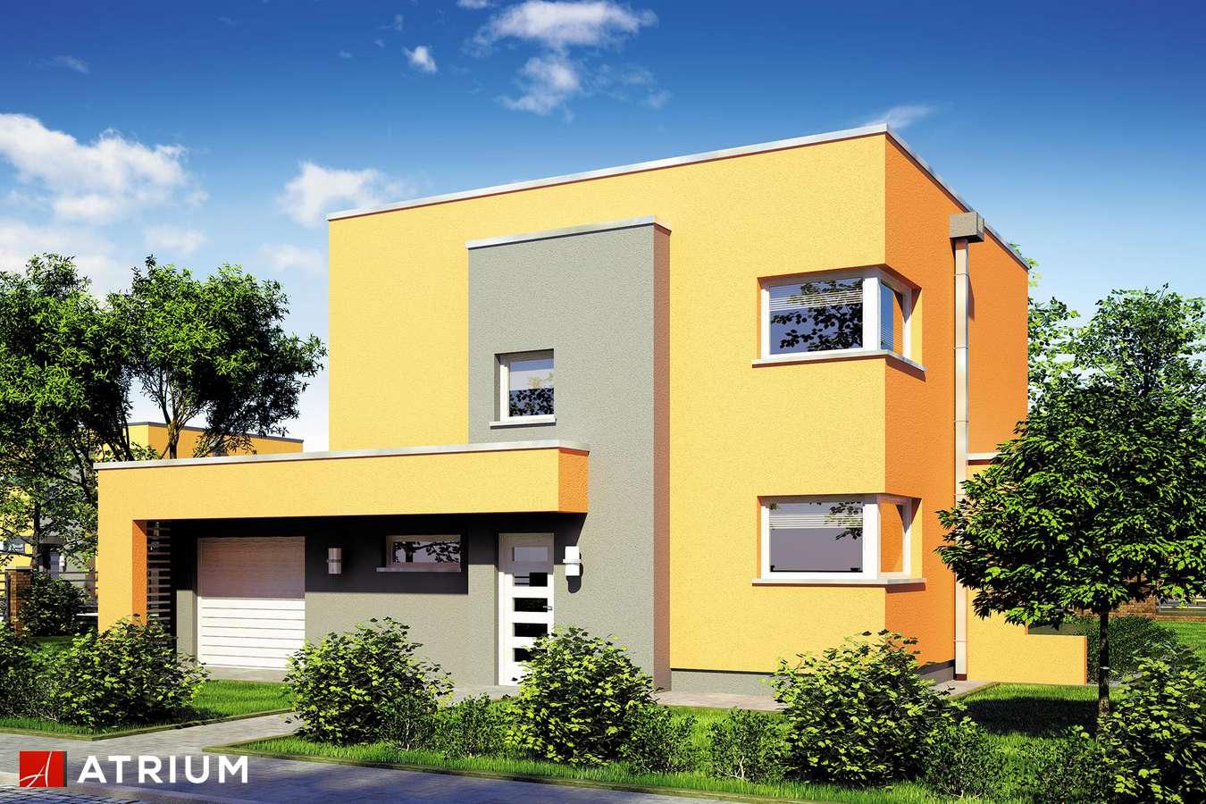 Projekty domów - Projekt domu piętrowego PICCOLO II - wizualizacja 1