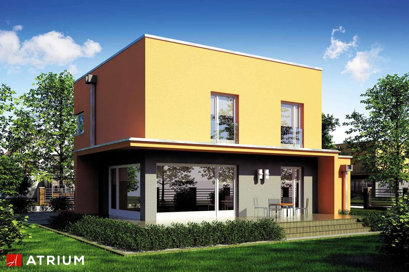 Projekty domów - Projekt domu piętrowego PICCOLO II - wizualizacja 2