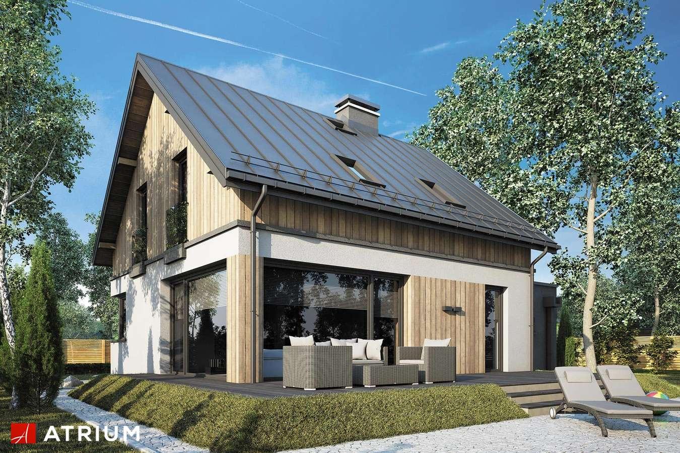 Projekty domów - Projekt domu z poddaszem POLO II - wizualizacja 2