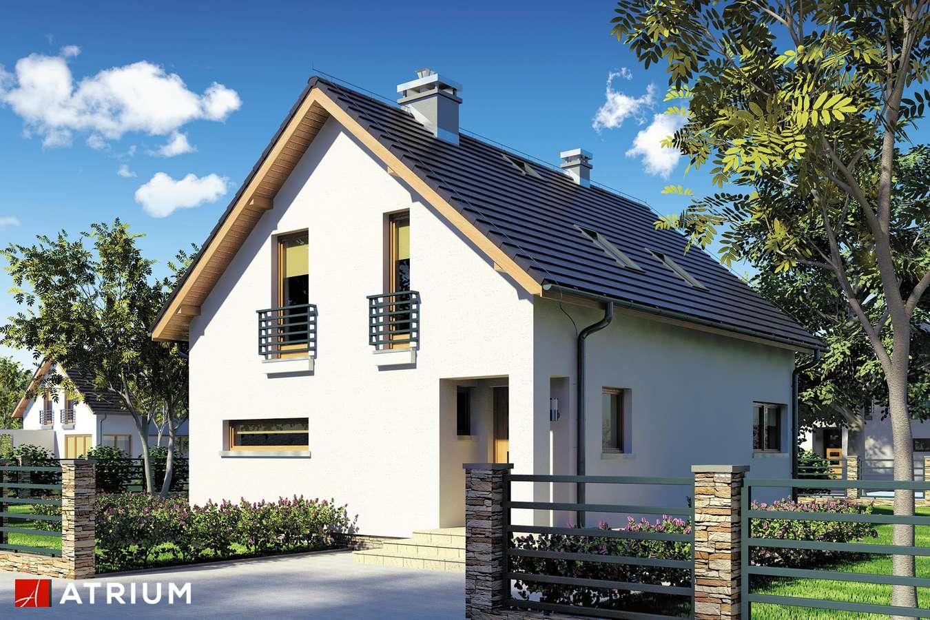 Projekty domów - Projekt domu z poddaszem WEGA - wizualizacja 2