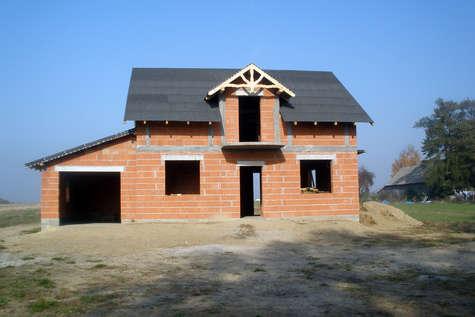 Projekt domu Zoja III w budowie