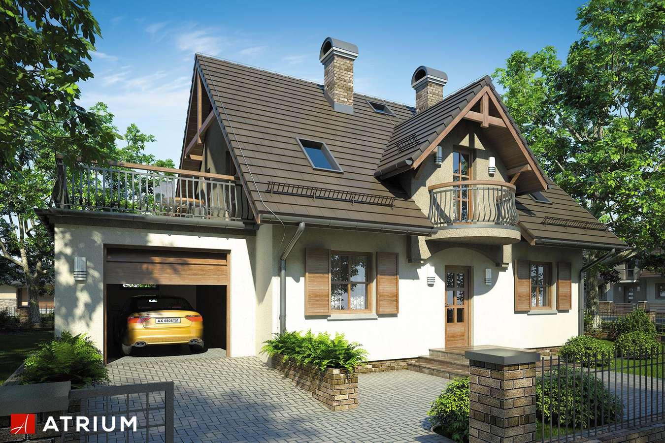 Projekty domów - Projekt domu z poddaszem ZOJA III - wizualizacja 1