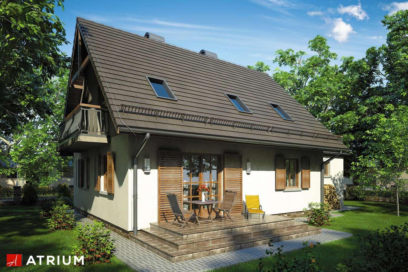Projekty domów - Projekt domu z poddaszem ZOJA III - wizualizacja 2