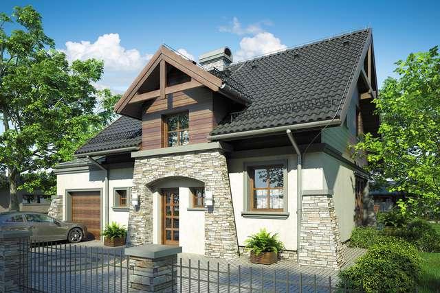 Projekt domu Porto II