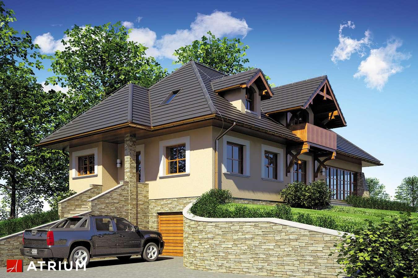 Projekty domów - Projekt domu z poddaszem TEDDY II - wizualizacja 2