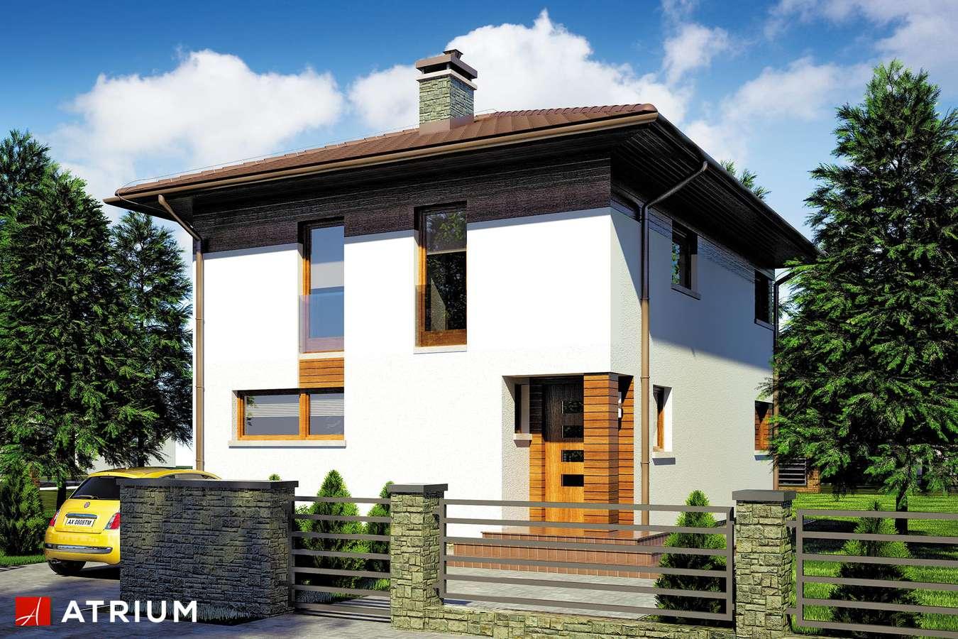 Projekty domów - Projekt domu piętrowego MILANO - wizualizacja 1