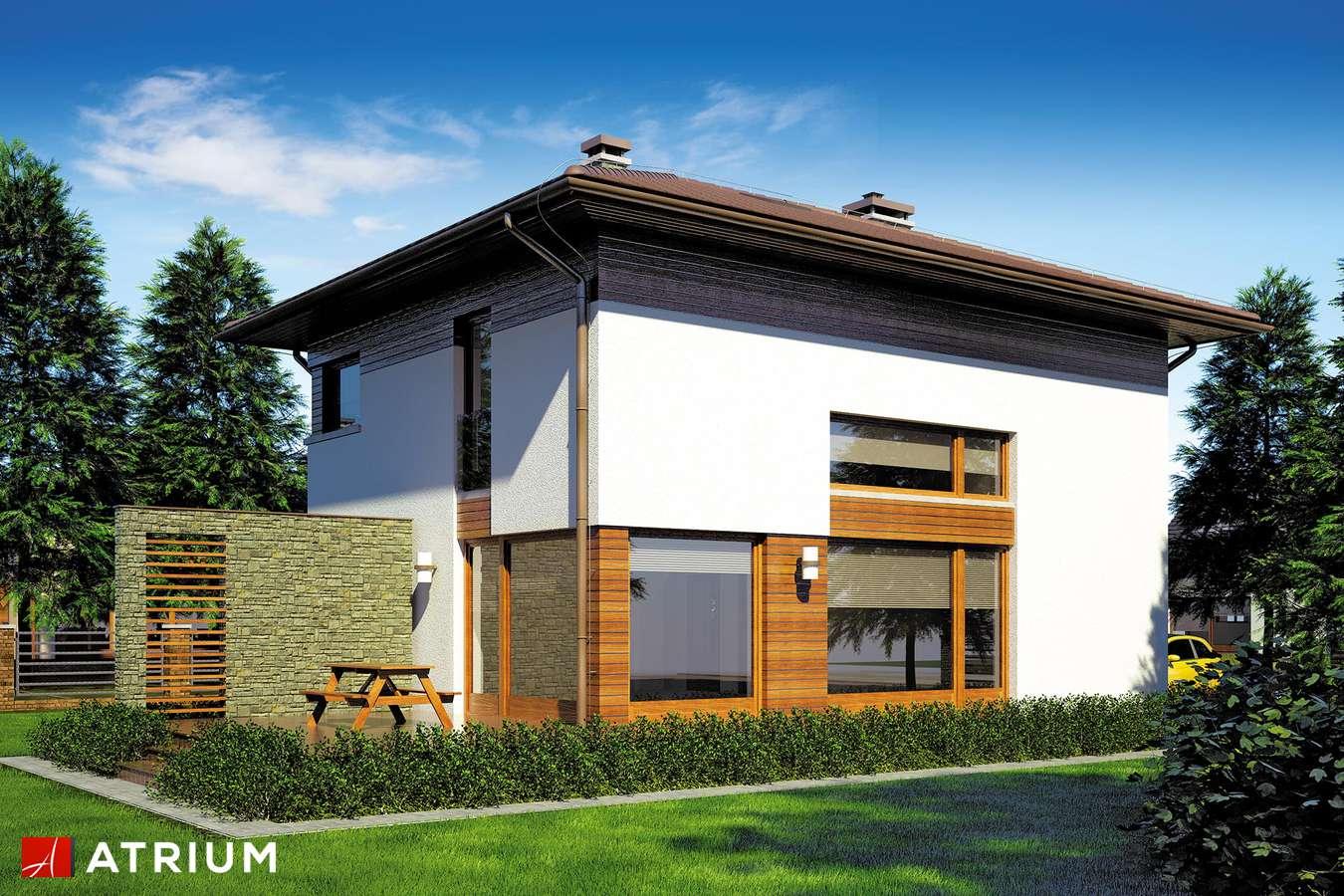 Projekty domów - Projekt domu piętrowego MILANO - wizualizacja 2