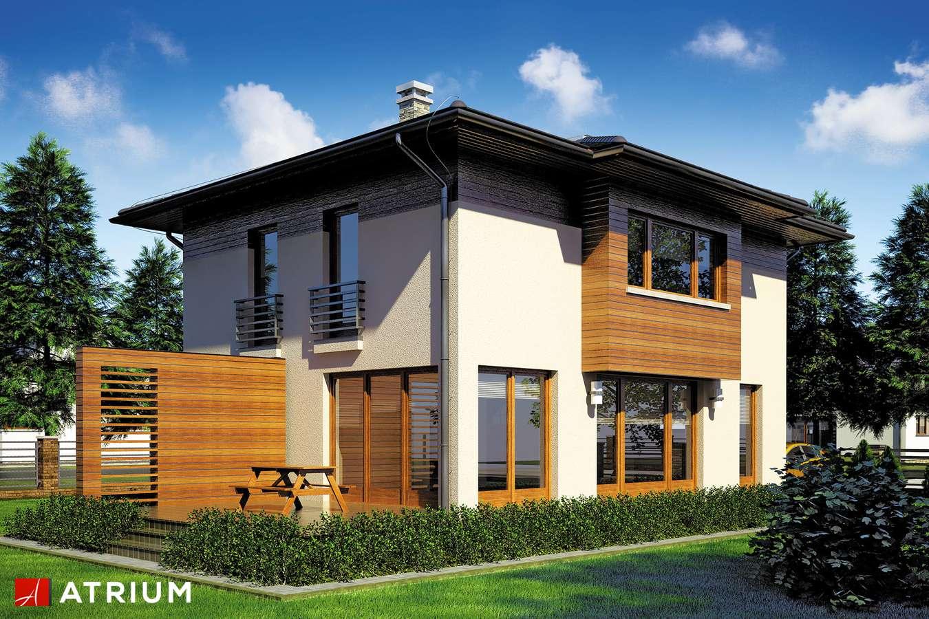 Projekty domów - Projekt domu piętrowego MILANO III - wizualizacja 1